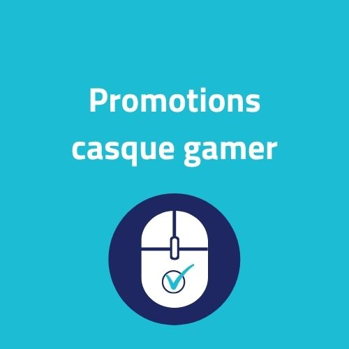 promotion casque gamer