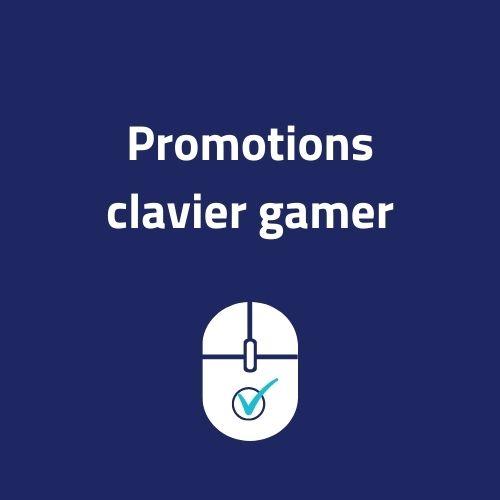 promotion clavier gamer