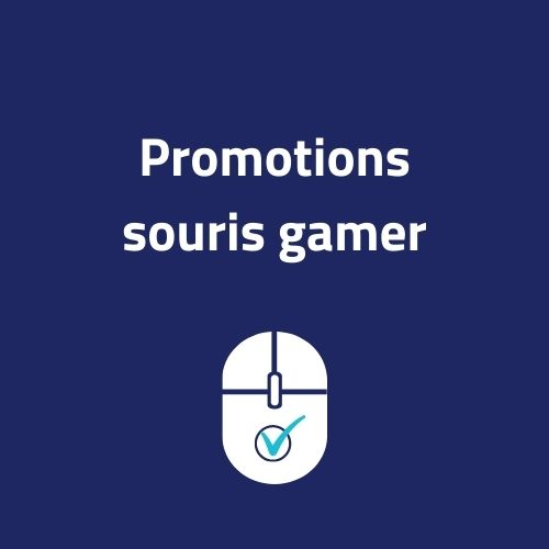 promotions souris gamer